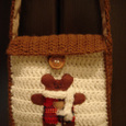 編み編み☆くまさんポシェット