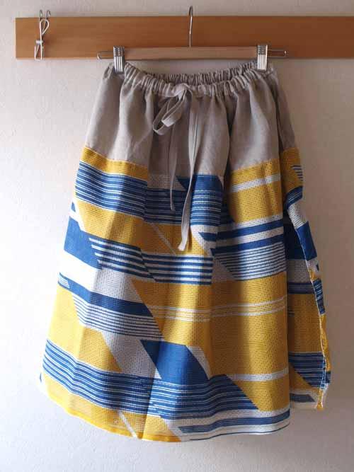 スカート 重ね着みたいなスカート