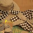 hat…リバーシブル帽子(つば広)