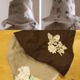 hat…リバーシブル帽子(つば狭)